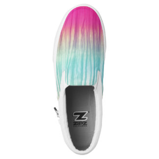 Multi-Color Chic Abstract Pattern Slip-On Shoes