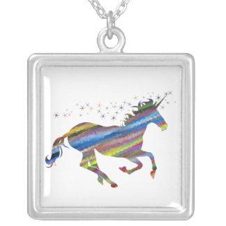 Multi-Color Colorful Unicorn Necklace