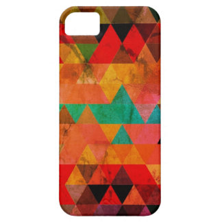 Multi Color Distressed Aztec Triangles iPhone 5 Cover