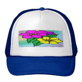 Multi Color Floral Cap