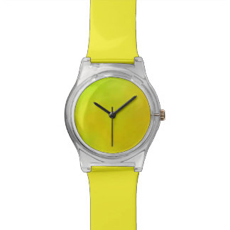 Multi Color Green, Yellow, Orange Watches