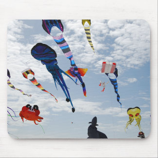 Multi Color Kites Painting the sky Mouse Mat