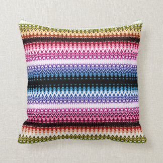 Multi-color Lace Wave Cushion