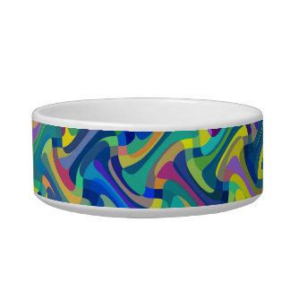 Multi-Color Pattern Bowl