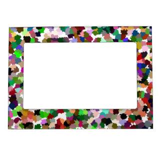 Multi-Color Pattern Cool Magnetic Frame