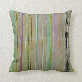Multi color pillow. cushion
