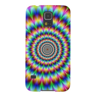 Multi-Color Rainbow Spiral Galaxy S5 Covers