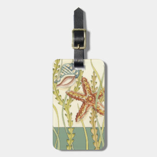 Multi-Color Shell Party Luggage Tag