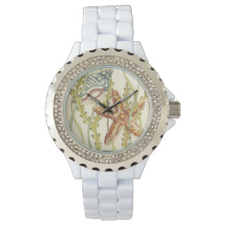 Multi-Color Shell Party Watch