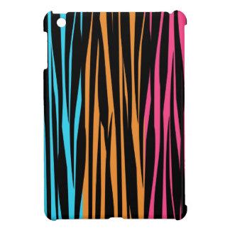 Multi Color Zebra Print iPad Mini Case