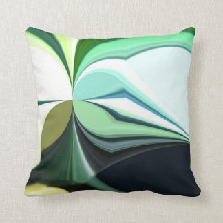 Multi-Colored Abstract Throw Pillow Cushions