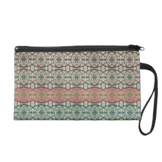 Multi-colored Caladium Wristlet