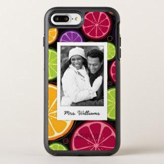 Multi Colored Citrus | Add Your Photo OtterBox Symmetry iPhone 8 Plus/7 Plus Case