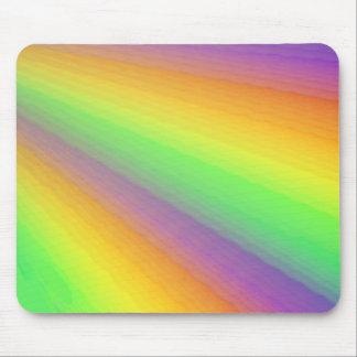Multi-Colored Fan Design Mousepads