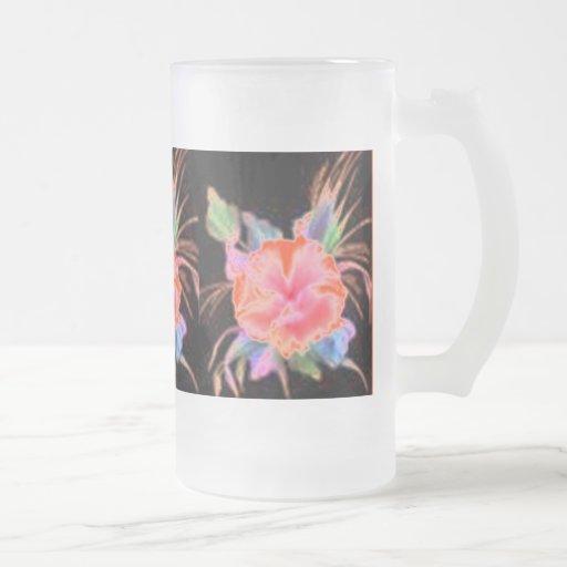 Multi Colored Flower Zazzle Mug