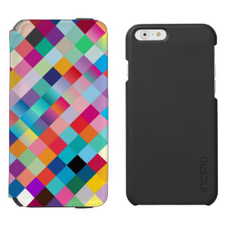 Multi Colored Geometric Incipio Watson™ iPhone 6 Wallet Case