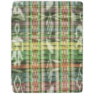 Multi-colored ikat iPad cover