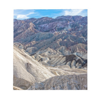 Multi Colored Landscape at Zabriskie Point Memo Notepads