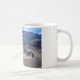 Multi Colored Landscape at Zabriskie Point Mugs
