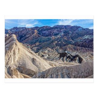 Multi Colored Landscape at Zabriskie Point Postcard