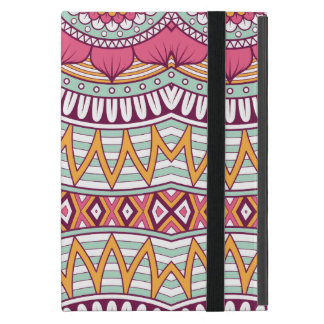 Multi-Colored Mandala Bohemian Pattern Cover For iPad Mini