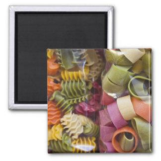 Multi colored pasta, Torri del Benaco, Verona Square Magnet