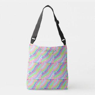 multi-colored polka dots Thunder_Cove Crossbody Bag