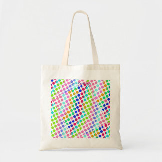 multi-colored polka dots Thunder_Cove Tote Bag