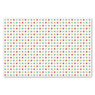 Multi-Colored Polka Dots Tissue Paper