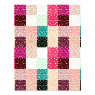 Multi Colored Square. Geometric Pattern Flyer