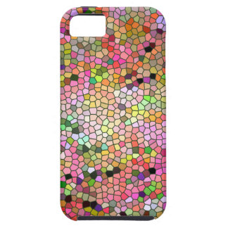 """""""Multi-colored Stain Glass Look"""" Case For The iPhone 5"""