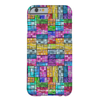Multi-Colored Stained Glass Barely There iPhone 6 Case