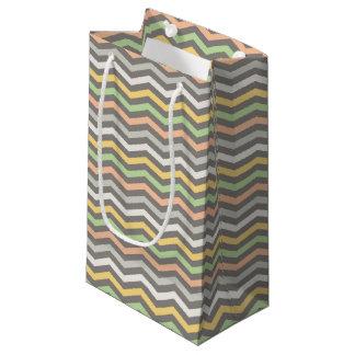 Multi-colored zigzag lines,Chevron - Gift Bag