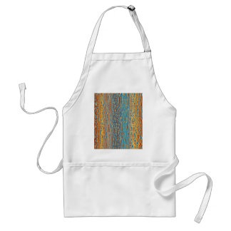 Multi Colour Background Standard Apron