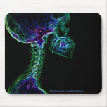 Multi-colour C-spine mousepad