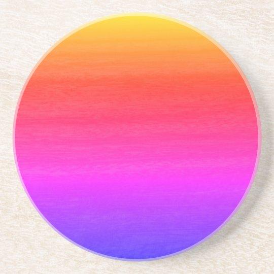Multi Colour Gradient Effect Coaster