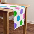 Multi Colour Polka Dots Short Table Runner