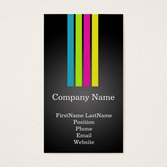 Multi-Colour Professional Business Cards