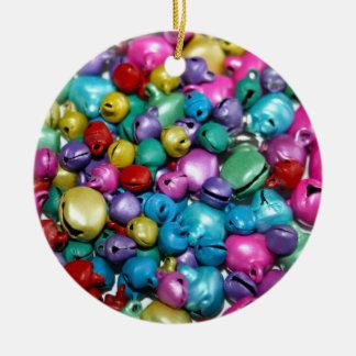 Multi-coloured Bells Ornament