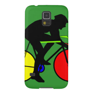 Multi Coloured Bike Bicycle Case For Galaxy S5