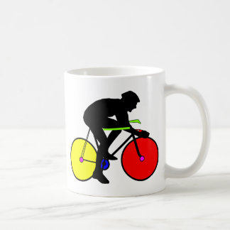 Multi Coloured Bike Bicycle Coffee Mug