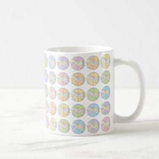 Multi-Coloured Carousel Ponies Coffee Mug