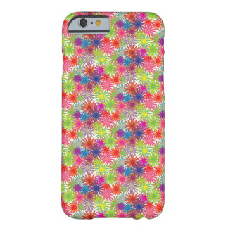 Multi-Coloured Floral Design - iPhone 6 Case/ Skin Barely There iPhone 6 Case