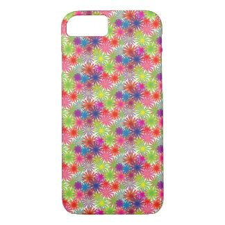Multi-Coloured Floral Design - iPhone 7 Case/ Skin iPhone 7 Case