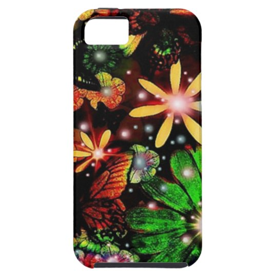 Multi Coloured Flowers iPhone 5 Cover