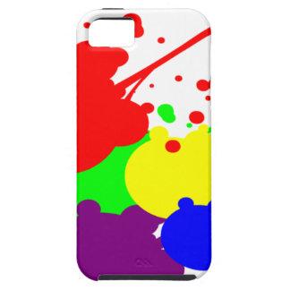 Multi Coloured Paint Splat Case