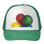 Multi Coloured Party Balloons Cap