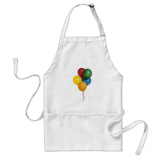 Multi Coloured Party Balloons Standard Apron