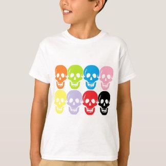 multi coloured skulls T-Shirt
