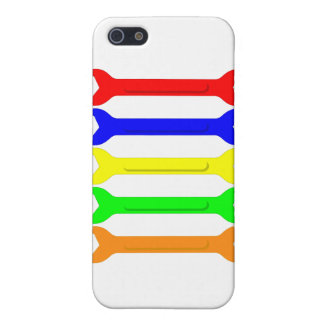 Multi-Coloured Spanners iPhone 5/5S Cases